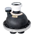 Caretaker In Floor Cleaning Valve for Swimming Pools